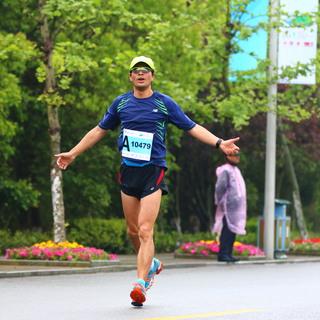 21公里、终点(10:12-10:31)