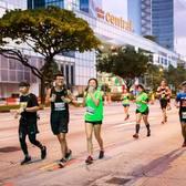 2017渣打银行新加坡马拉松官方赛事照片(图片均来自赛事官方脸书)