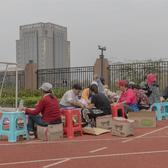 2018女子马拉松参赛包发放