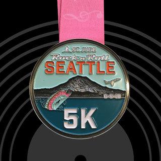 2018西雅图摇滚马拉松赛事照片(图片均来自官方网站)