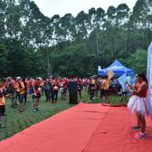 广州百公里挑战赛第三站激情腾跃照片
