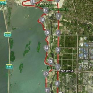 2016 西太湖国际半程马拉松赛