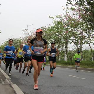 肇庆健将拍摄10.5km处8:43至8:57