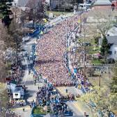 2018波士顿马拉松赛事照片(图片均来自官方脸书)