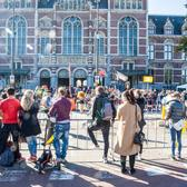 2017阿姆斯特丹马拉松赛事照片(图片均来自官方脸书)