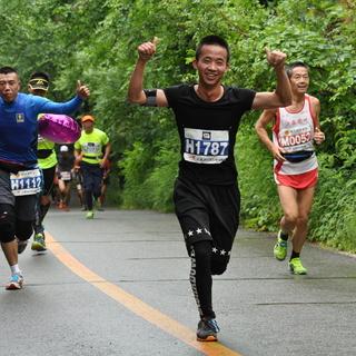 2016年6月19日长春净月森林马拉松