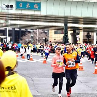 2018东京马拉松官方赛事照片(图片均来自官方脸书)