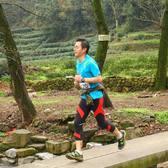 2015杭州asics山地马拉松顺遂完赛,排名45,7小时01分。